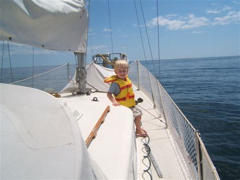 board boat sailboat baby on board a boat we live on a boat