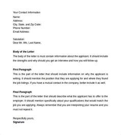 Format Of Cover Letter With Resume resume cover letter 13 sles exles formats