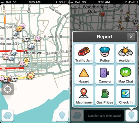 waze app for android waze for android and ios updated brings in real time road closures mobilesyrup