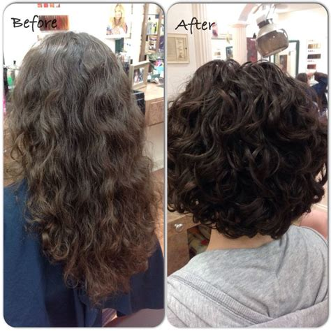 deva curl hairstyles for short hair before and after deva cut by katie before and after