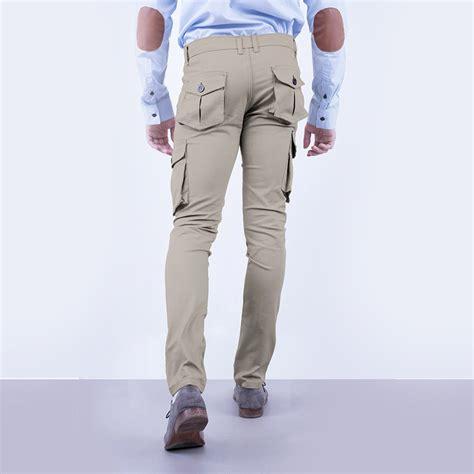 Terlaris Celana Chino Kargo Panjang Hitam Berkualitas celana cargo kargo desert moi