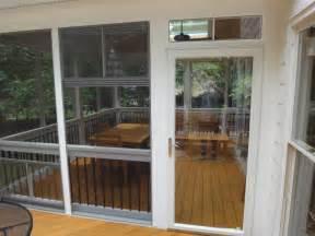 pella select storm door from raleigh sunrooms three 3 season rooms eze breeze windows