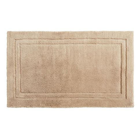 mohawk bathroom rugs mohawk imperial 30 in x 50 in cotton bath mat in barley