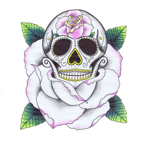 sugar skull tattoo design photos dandelion tattoos designs and atattoose
