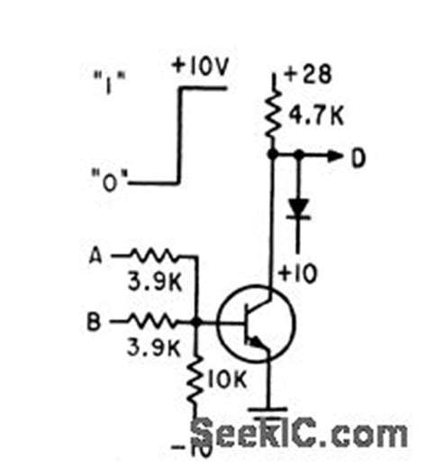 resistor transistor logic nor gate basic logic gate circuit diagram html basic free engine image for user manual