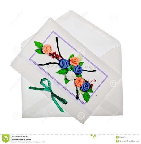 Handmade Greeting Card Business - handmade greeting card royalty free stock photo image