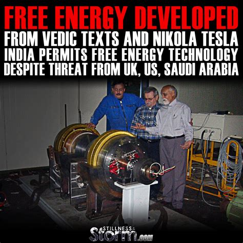 free energy developed from vedic texts and nikola tesla