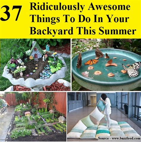 fun things to put in your backyard 37 ridiculously awesome things to do in your backyard this