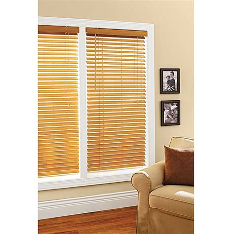 walmart window coverings better homes and gardens 2 quot faux wood windows blinds oak