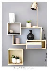Designs Of Bookshelves On Wall 23 Modern Wall Shelves Designs Ideas 2016 Home And House