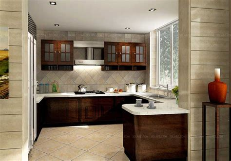 Www Kitchen Interior Design Photo Kitchen Decor In 3d Modular Kitchen 3d Designer India