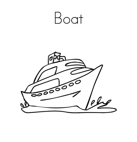 boat coloring pages for toddlers free printable boat coloring pages for kids best