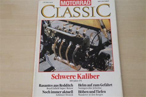 Motorrad Classic Ausgaben by Motorrad Classic Alle Ausgaben Autotestversand