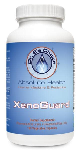 Xenoestrogen Detox Supplements by Xenoguard Doctor E S Choice Store