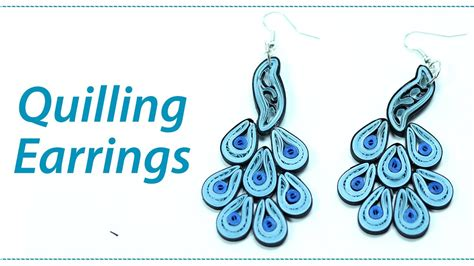 How To Make Quilling Paper Jhumkas - quilling earrings how to make paper quilled jhumkas step