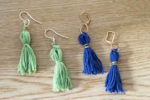 Halloween Kids Crafts Easy - tassel earrings fun family crafts