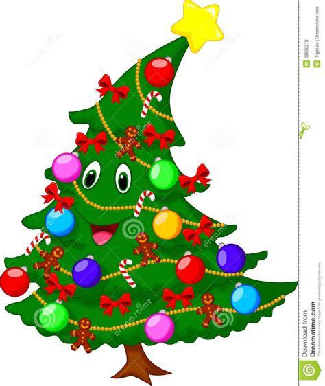 imagenes con arbol de navidad personaje de dibujos animados 225 rbol de navidad ilustraci 243 n vector ilustraci 243 n 39806278