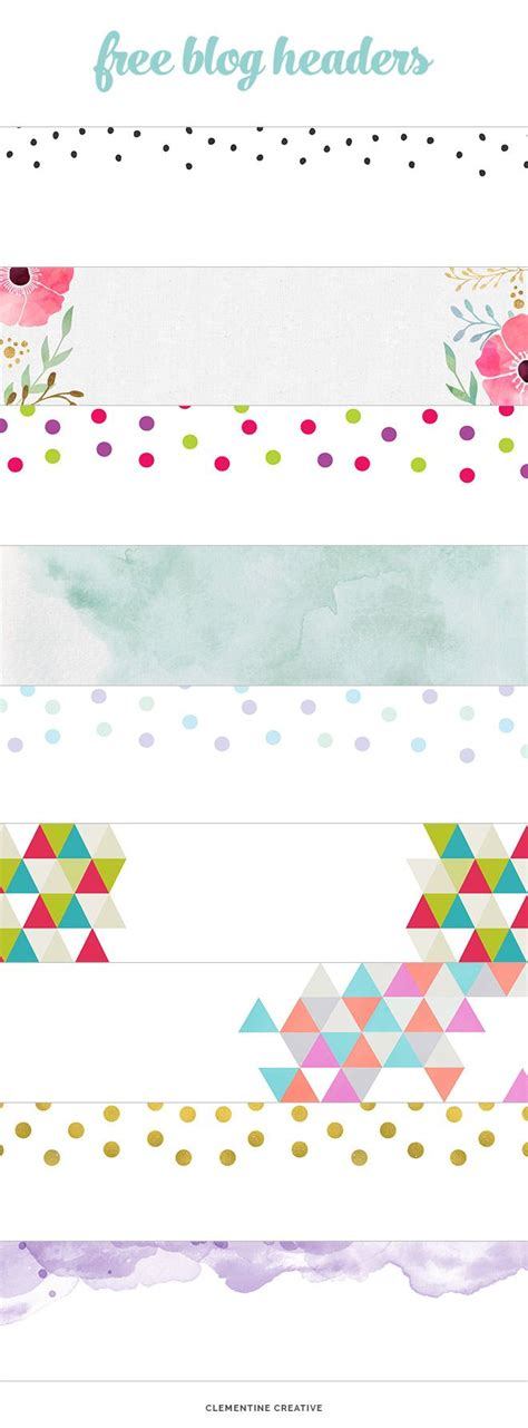 header footer design free free creative blog headers to download gold dots