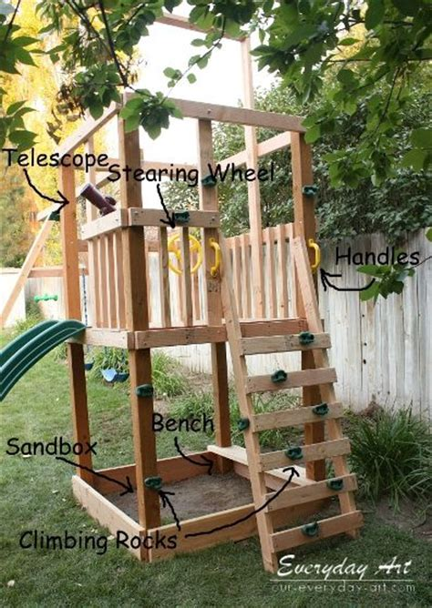 monkey bar swing set plans diy wooden swing set by everyday art this with monkey