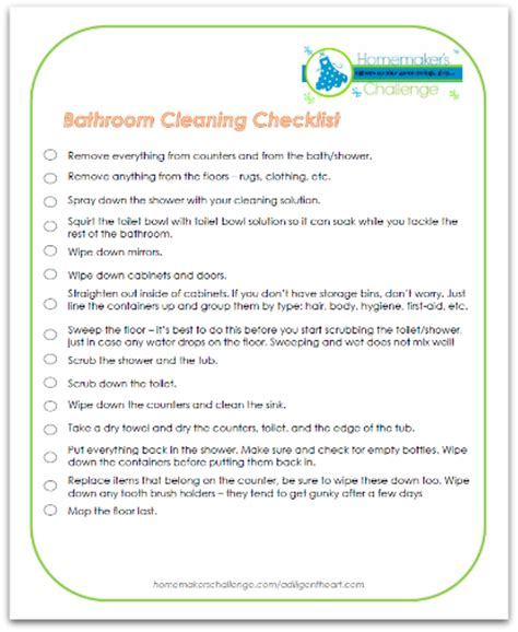 how to properly clean your bathroom how to properly clean a bathroom w free checklist