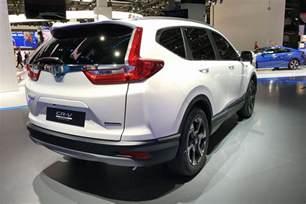 Hybrid Suv Honda Hybridised Honda Suv New Cr V Hybrid Prototype Hits