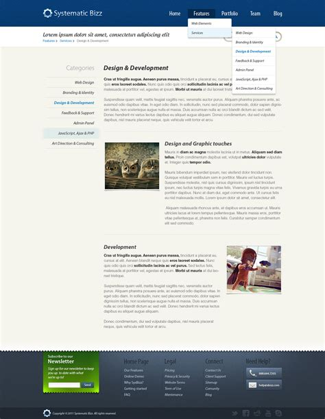 clean business wordpress psd template by pixelsinvasion
