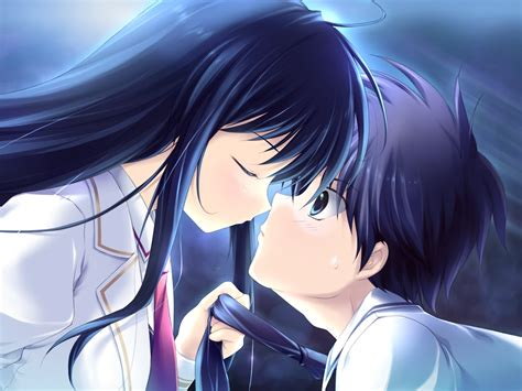 download wallpaper anime couple download free anime couple love wallpaper one hd