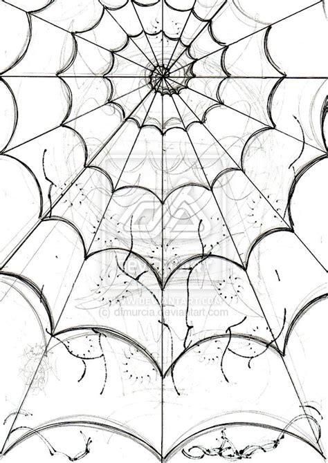 spider s web sketch by dfmurcia on deviantart