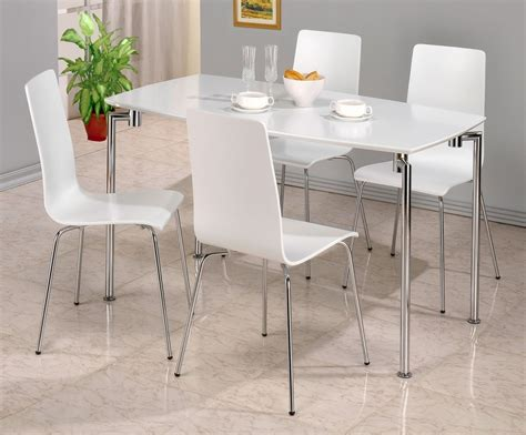 White Gloss Dining Table Set Dockland Prestige Residential 187 Fiji High Gloss Rectangle Dining Set White