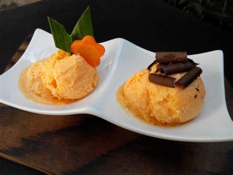 cara membuat ice cream warna hitam cara membuat es krim wortel yang lembut dan menyehatkan