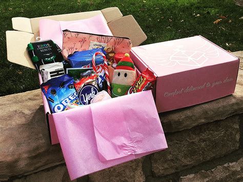 how to comfort a girl on her period the pms package monthly gift box brings comfort to girls