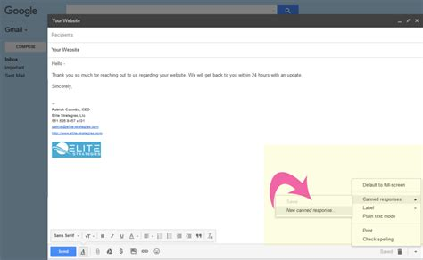 Templates Gmail by How To Enable Gmail Templates
