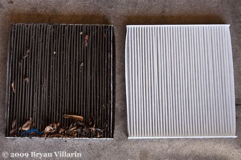 Cabin Filter Change air filter all narfed up