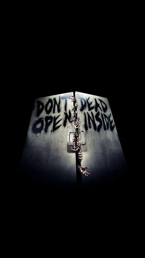 wallpaper iphone 6 the walking dead the walking dead door wallpaper for iphone x 8 7 6