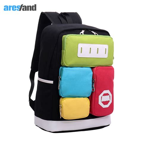 Multy Travel Bag Hypervenom aresland multi pocket bag creative personality panelled canvas leisure travel backpack