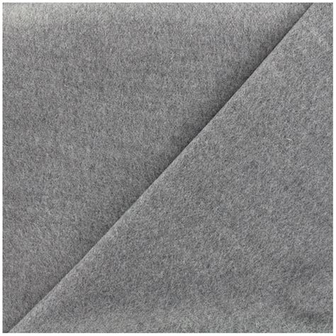 sheet fabric coat sheet fabric light grey x 10cm ma petite mercerie