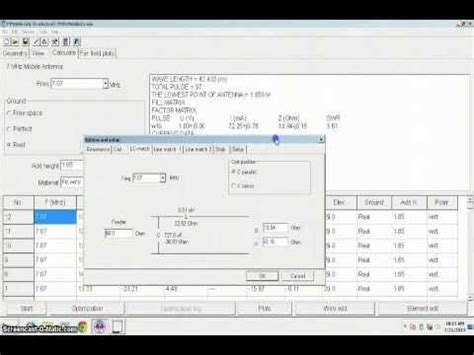 designing  mhz mobile antenna  mmana gal