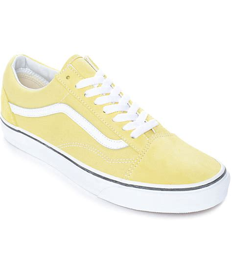 Sepatu Vans Sk8 Peanuts vans skate shoes yellow