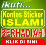 kontes desain grafis indonesia kontes sticker islami kontes blog berhadiah