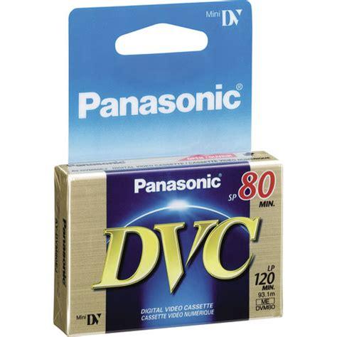 panasonic mini dv cassette panasonic ay dvm80ej mini dv cassette 80 minutes ay dvm80ej