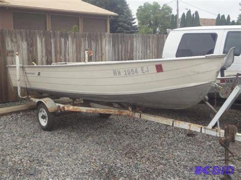 starcraft aluminium boats for sale 1910 starcraft 16ft aluminum fishing boat oa le july