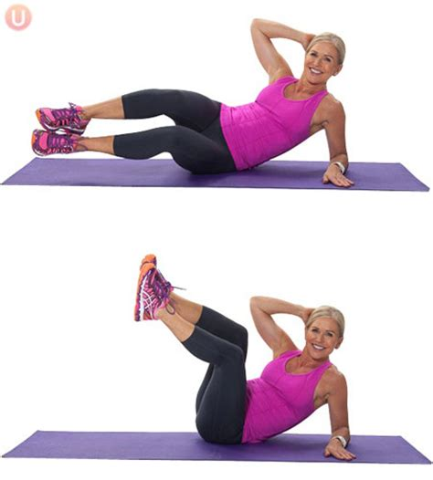 how to do oblique crunch