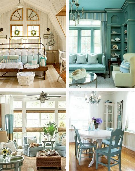 Beachy Decor by At The Beachy Decor And A Happy Weekend