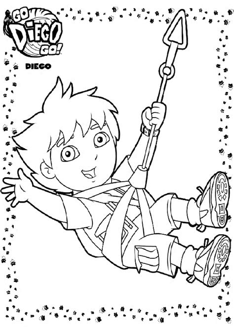 go diego go coloring pages go diego go coloring pages to and print for free