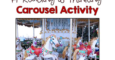 Carpet Carousel Of 2 by Quot Reading Is Thinking Quot A Carousel Activity A Walk In
