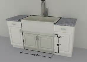 Sink Kitchen Cabinet Ikea Custom Cabinets 36 Quot Farm Sink Or Gas Cooktop Units