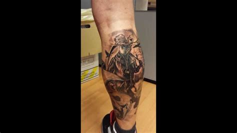 scarecrow tattoo horror crows with scarecrow done by danny
