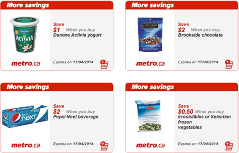 printable grocery coupons canada metro ontario canada printable grocery coupons april 11