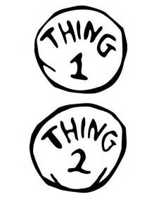 thing 1 and thing 2 printable template barrett designs a dr seuss themed