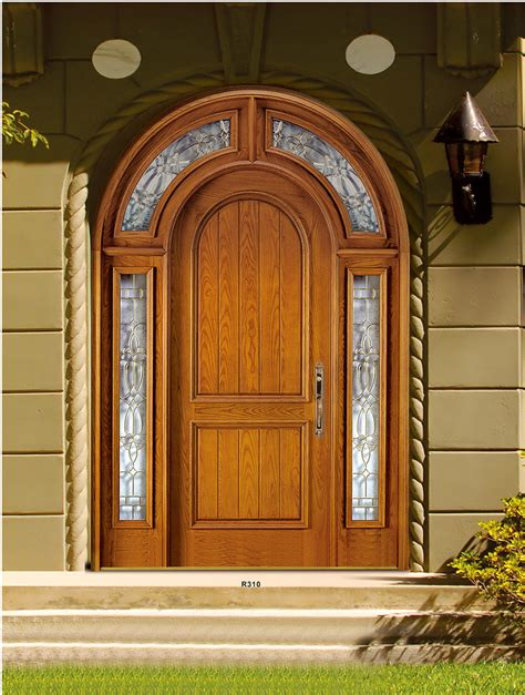 Orginal Church Arched Double Doors Solid Mahogany Wood